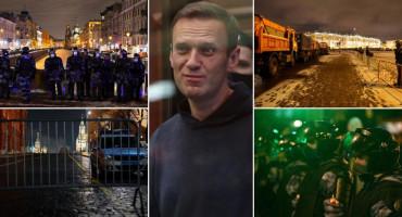 Navaljni osuđen na 3,5 godine zatvora, policija blokirala centar Moskve
