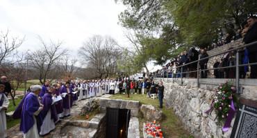 ŠIROKI BRIJEG Obilježena 76. obljetnica najtužnijeg dana u povijesti grada