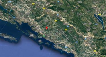 Potres jačine 4,3 stupnja zadrmao Hercegovinu i Dalmaciju