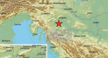 TLO NE MIRUJE Tri nova potresa tijekom noći u Hrvatskoj