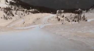 Skijališta diljem Europe 'obojena' u crveno, evo i zašto