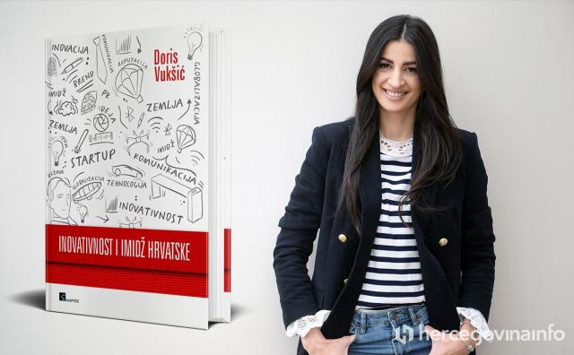 Mlada Ljubušanka dr. sc. Doris Vukšić objavila svoju prvu knjigu
