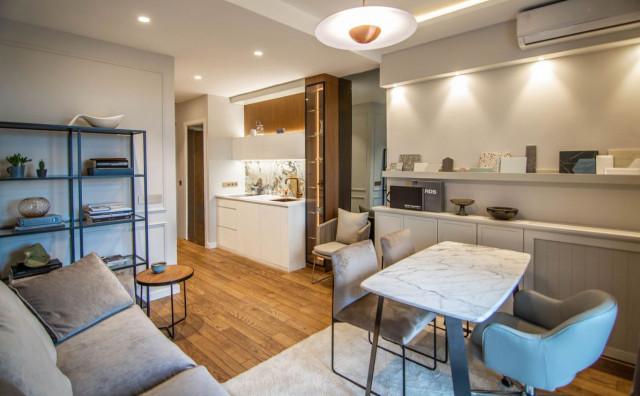 """Ovaj stan nalazi se unutar luksuznog kompleksa """"Beograd na vodi"""" i ostavlja bez daha"""