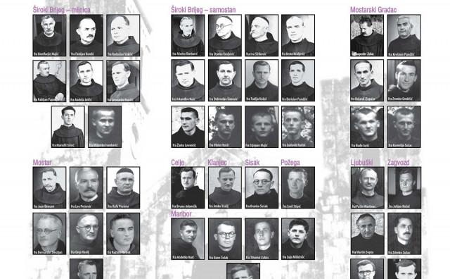 ŠIROKI BRIJEG 76. obljetnica jugokomunističkog ubojstva 66 hercegovačkih franjevaca