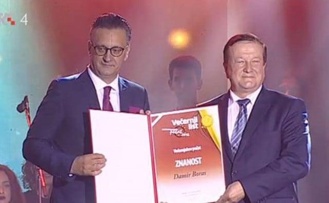 RODOM LJUBUŠAK Pada li rektor Boras, inače nositelj Večernjakova pečata, koji je Čoviću dao počasni doktorat