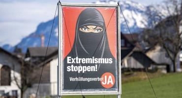 LICE SE MORA VIDJETI Švicarci zabranili nošenje burki na javnim mjestima