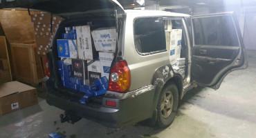 Dvojica državljana BiH 'pali' s 15 000 kutija cigareta