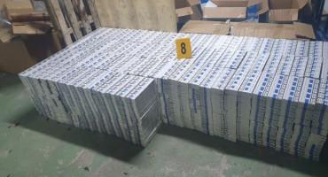SKUPA NEKA VODA - 247 tisuća kutija cigareta nađeno u cisterni u BiH