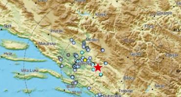 Potres magnitude 3,2 stupnja zatresao Hercegovinu