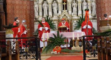 Kardinal Puljić predvodio misu na Cvjetnicu u sarajevskoj katedrali