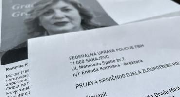 RADMILA KOMADINA Nova savjetnica gradonačelnika Mostara prijavljena FUP-u