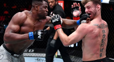 Poraz Stipe Miočića, Ngannou novi UFC prvak