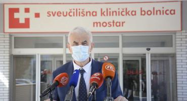 """Mandić se cijepio u SKB Mostar, na upit zašto ne u Sarajevu odgovorio """"Ovo je moja kuća"""""""