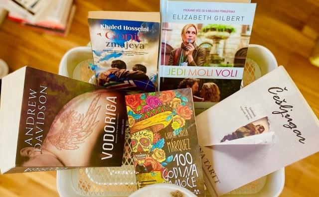 """Pet najdražih knjiga vlasnice bloga """"Čitaj knjigu"""""""