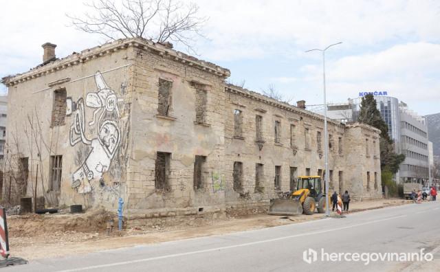 Rušenje Ćirine zgrade nakon sastanka sa Željeznicama Federacije