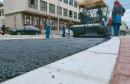Asfaltira se nova četverotračna prometnica kod hotela Ero