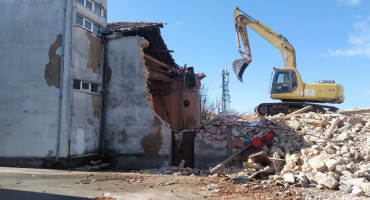 Ruši se zgrada KIC-a u središtu Čitluka