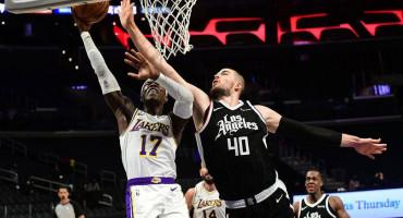 Clippersi i Ivica Zubac uvjerljivo svladali Lakerse