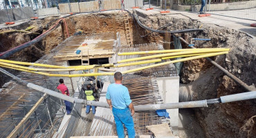 Izgradnja desnoobalnog kolektora i rekonstrukcija Ulice kneza Višeslava