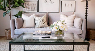 Kako dekorirati stolić u dnevnom boravku?