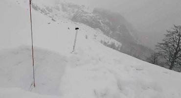 Na Visočici palo dva metra snijega