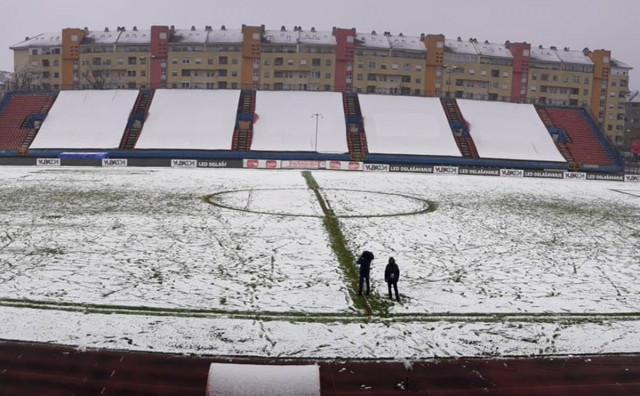 Snijeg odgodio utakmicu polufinala Kupa BiH