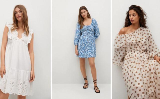 Mango ima ženstvene haljine u kojima želimo dočekati ljeto