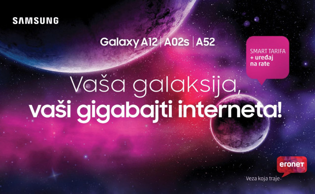 Vaša galaksija, vaši gigabajti interneta!
