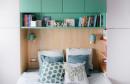 Ovaj stan od 31 m2 dokaz je da su boje u prostoru odlična ideja