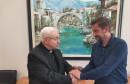 APOSTOLSKI NUNCIJ KOD GRADONAČELNIKA KORDIĆA Zanimala ga je budućnost mladih u Mostaru