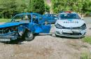 Sudar osobnog i policijskog Golfa u Rodoču, ozlijeđene tri osobe
