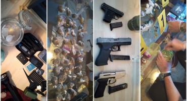 Pogledajte što je sve pronađeno kod dilera iz Sarajeva