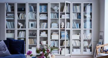 Najljepše police za knjige koje će biti centar svakog doma