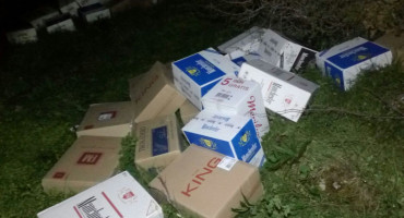 Pripadnici Granične policije BiH spriječili krijumčarenje cigareta u vrijednosti od 95 000 KM