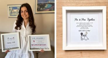 Marijana je mlada poduzetnica iz Širokog Brijega koja osvaja personaliziranim okvirima