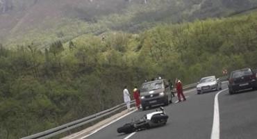 PROMETNA NESREĆA Kod Konjica teško ozlijeđen motociklist