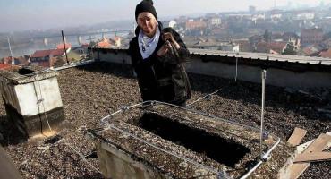 UHVATITE SE ZA DUGME Dajana je jedina dimnjačarka u BiH