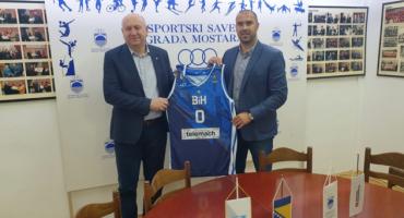 Delegacija Košarkaškog saveza BiH u Mostaru