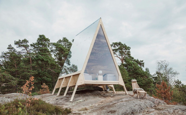 Čarobna kućica koja stvara osjećaj kampiranja