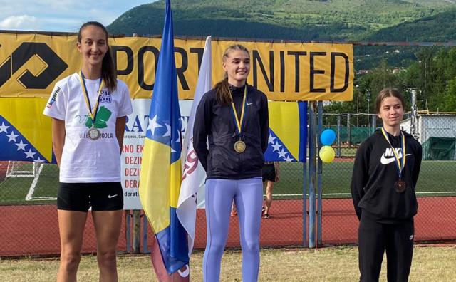 Troskokašica Zrinjskog Ana Dorotea Markić juniorska prvakinja države