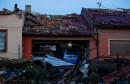 Tornado pogodio Češku, mjesto uništeno do neprepoznatljivosti