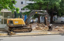 RUŠI SE, NE STAJE SE Uklonjen još jedan bespravni objekt u Mostaru