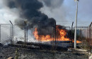 MOSTAR U požaru izgorjelo skladište Vodovoda