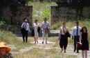 POSJET HERCEGOVINI Mostarski spomenik u zapuštenom stanju dočekao visoka izaslanstva UN-a i UNESCO-a