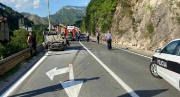 SKB MOSTAR Mladić životno ugrožen nakon teške nezgode kod Konjica
