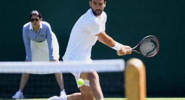 Marin Čilić u drugom kolu Wimbledona