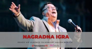 Koncert Halida Bešlića: Win and be our VIP