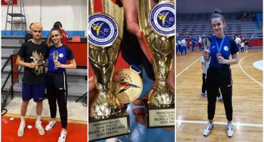 DAVID I DORA MARUŠIĆ Brat i sestra iz Mostara najbolji taekwondoisti u BiH