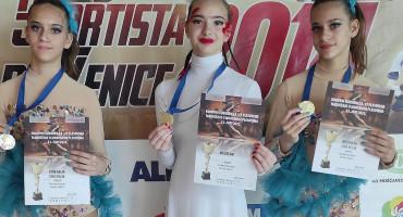 VJETAR U LEĐA Mostarske plesačice se kući vratile sa dva 1. mjesta