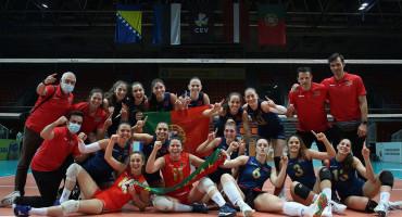 KVALIFIKACIJE Odbojkašice BiH izgubile od Portugala, ali su se plasirale na Final four
